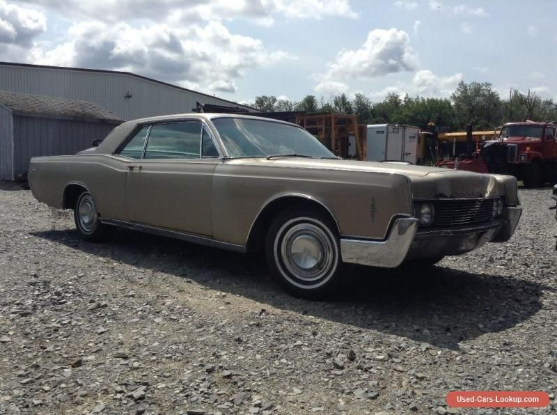 1966 Lincoln Continental Barn Find Stored Since 1972 100 Complete Original Car