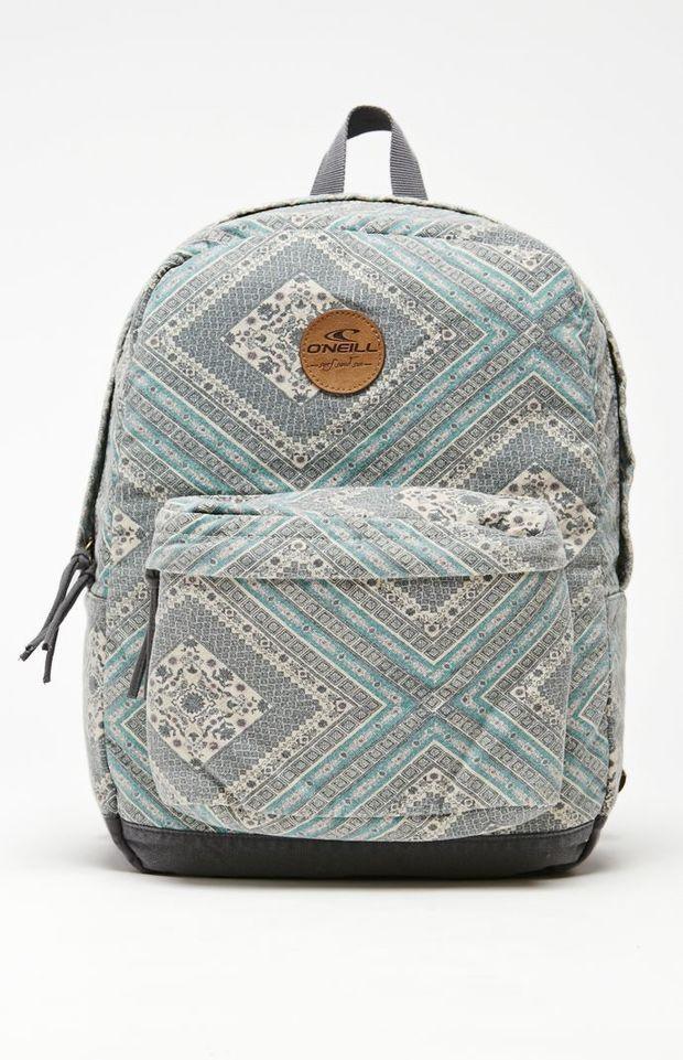 O'Neill Goldenwest Agave School Backpack - Womens Backpack - Blue ...