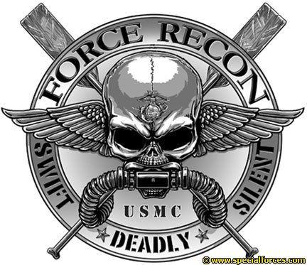 Marine Recon Emblem Military Special Forces Pics Pinterest