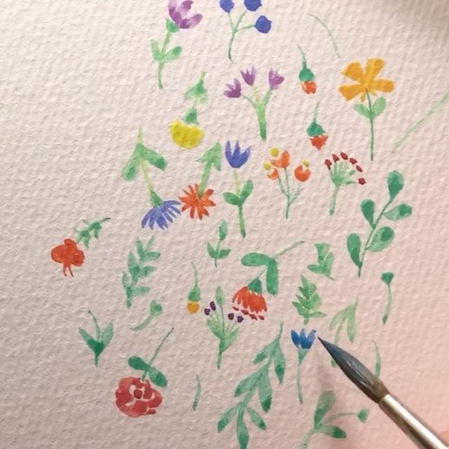 C Est Facile Aquarelle Watercolors Aquarelle Facile