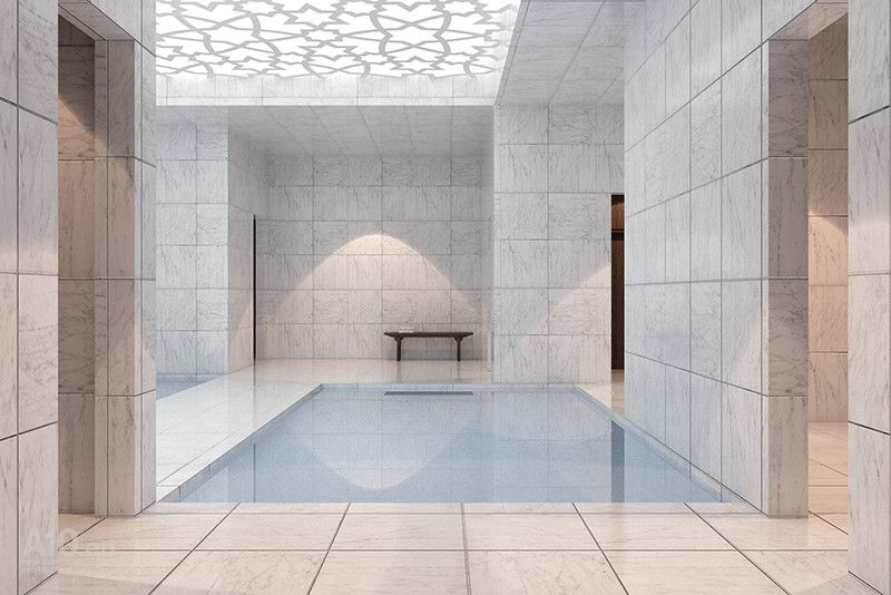Turkish Bath In Stockholm Sweden By Arklab