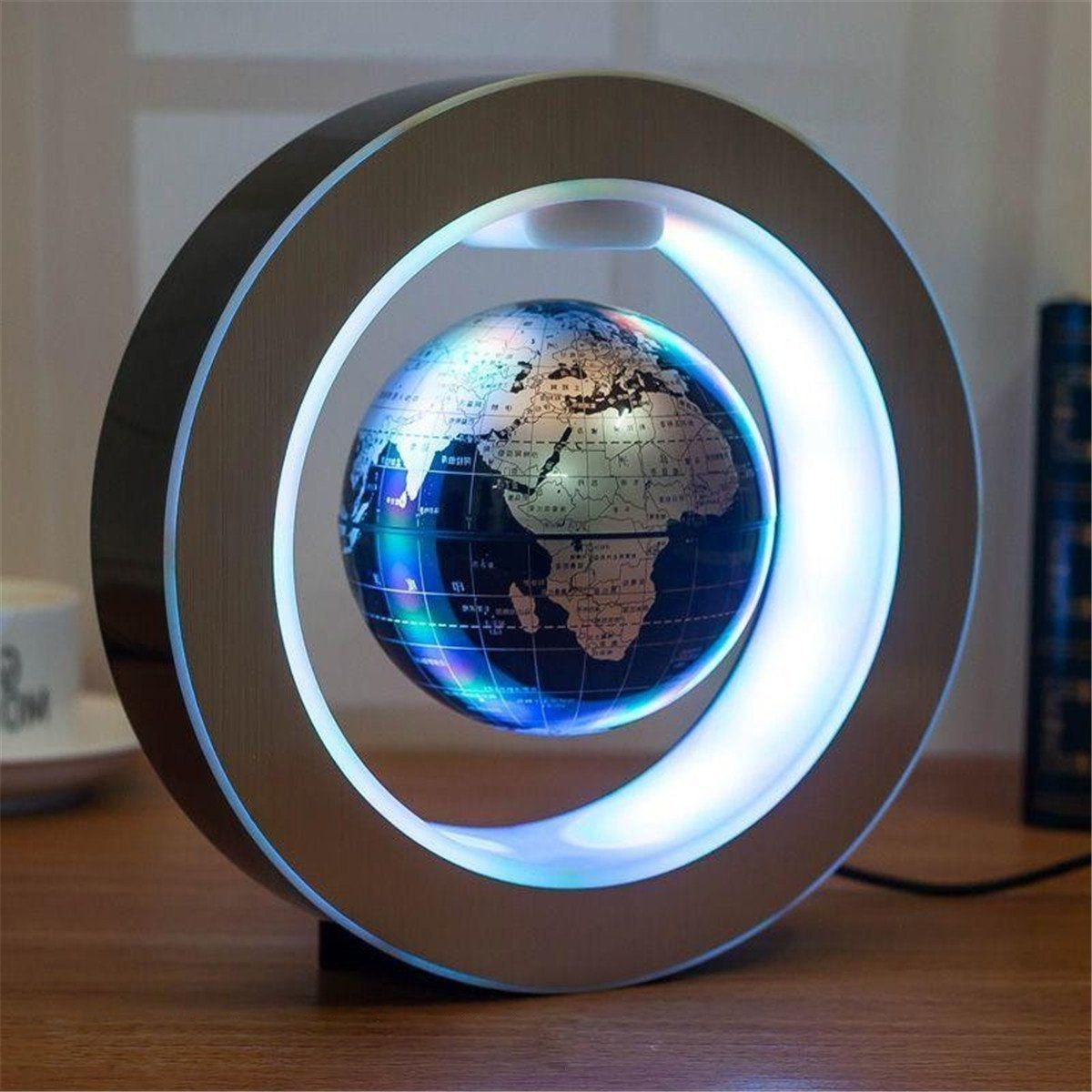 Package Included 1 X Magnetic Levitation Floating Globe Features Color Black Gold Blue Note Please Kindly L Floating Globe Magnetic Levitation Levitation