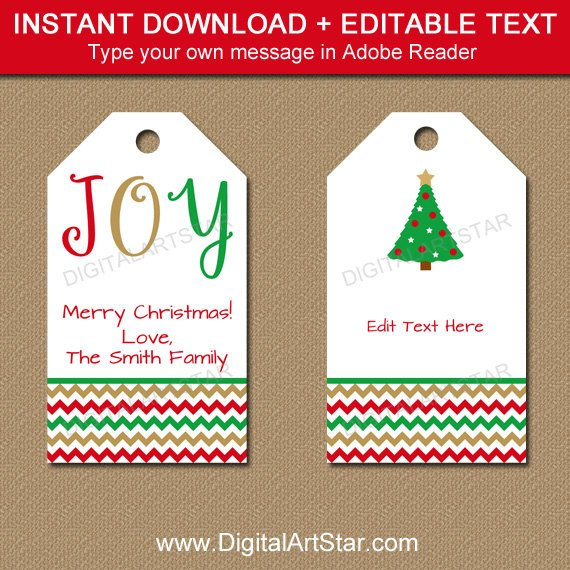 Editable Christmas Labels.Pin On Products