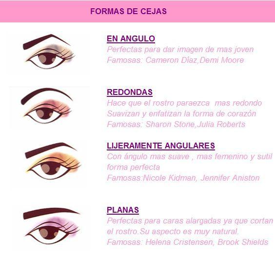 No Afines Demasiado Tus Cejas Porque Endurecen Los Rasgos Cejas Redondeadas Y Simetricas Favorecen A Los Rostros Con Form Eye Makeup Makeup Store Beauty Hacks