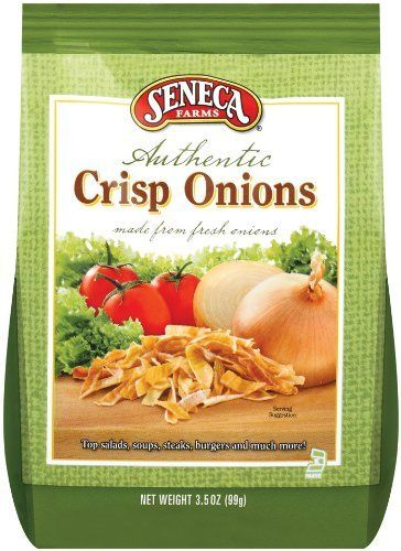 Seneca Farms Authentic Crisp Onions,3.5-Ounce Bags (Pack of 12)  #glutenfree, http://www.amazon.com