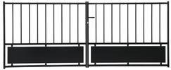 Iron Gate Swing Bistrol 3m Diy Store Brico Depot Boulogne Sur Mer Muebles De Diseno Industrial Trabajo De Metal Diseno Industrial