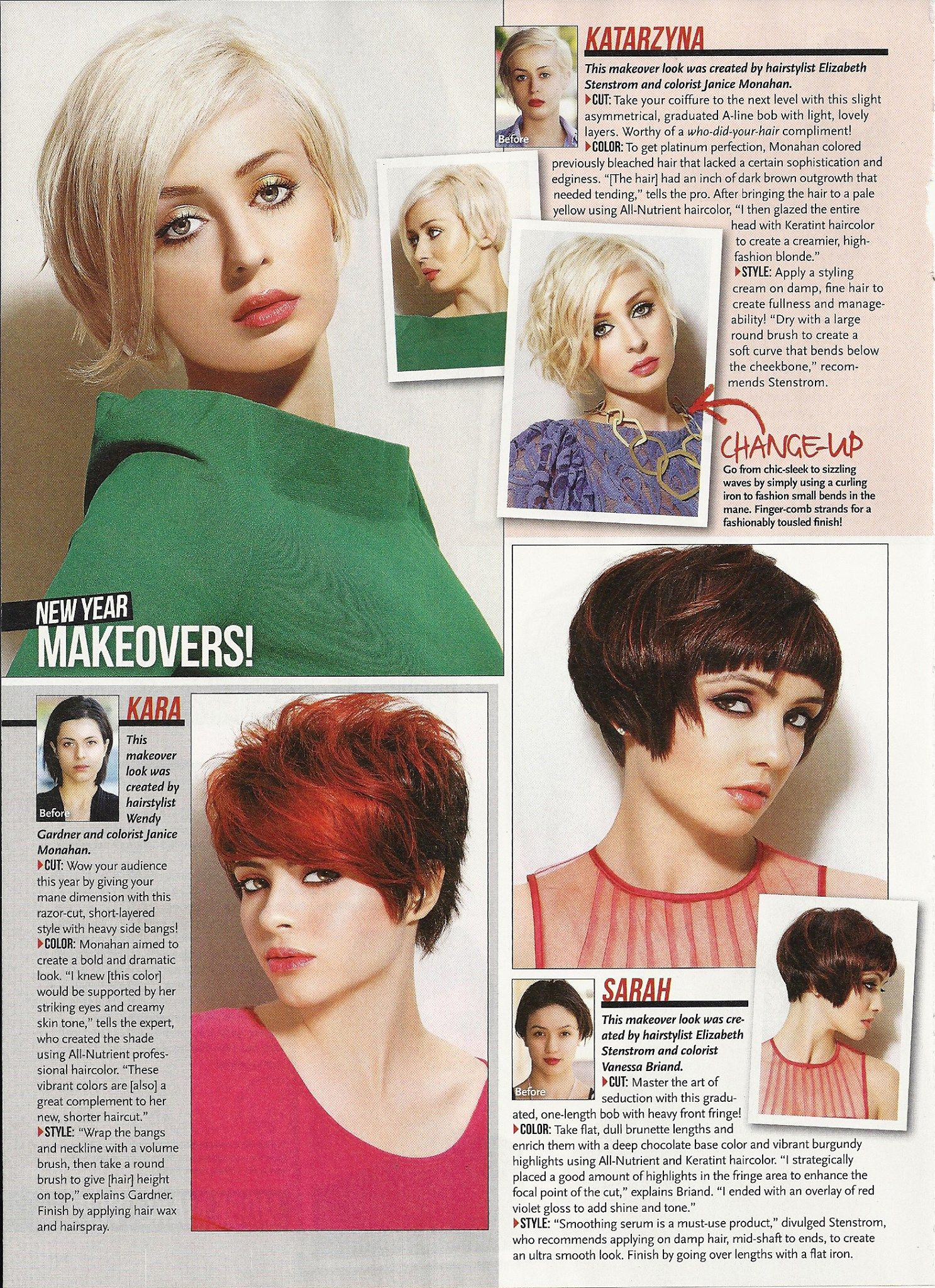 L Salon S Full Feature In The March Issue Of Sophisticate S