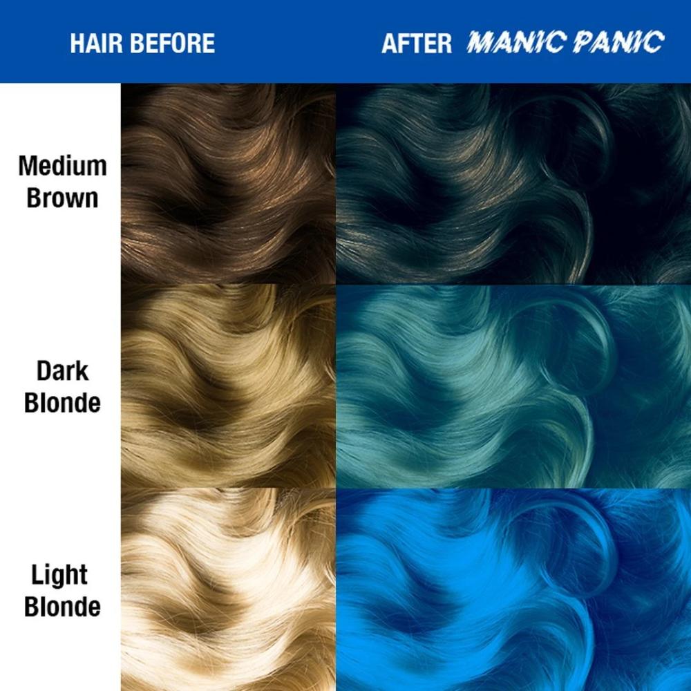 Bad Boy Blue Amplified In 2020 Dyed Hair Blue Dark Blue Hair Green Hair Colors