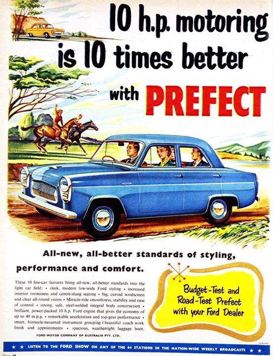 Nz Ford Perfect 1955 Car Advertising Car Ford Ford