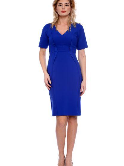 Dámske šaty STREET VOGUE - modrá