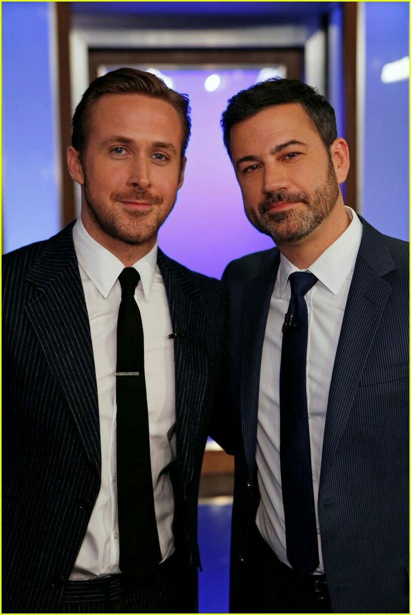 Ryan Gosling with Jimmy Kimmel | Ryan T. Gosling | Pinterest | Ryan ...