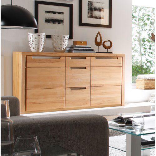 Gracie Oaks Sideboard Dresser As Nightstand Home Decor White
