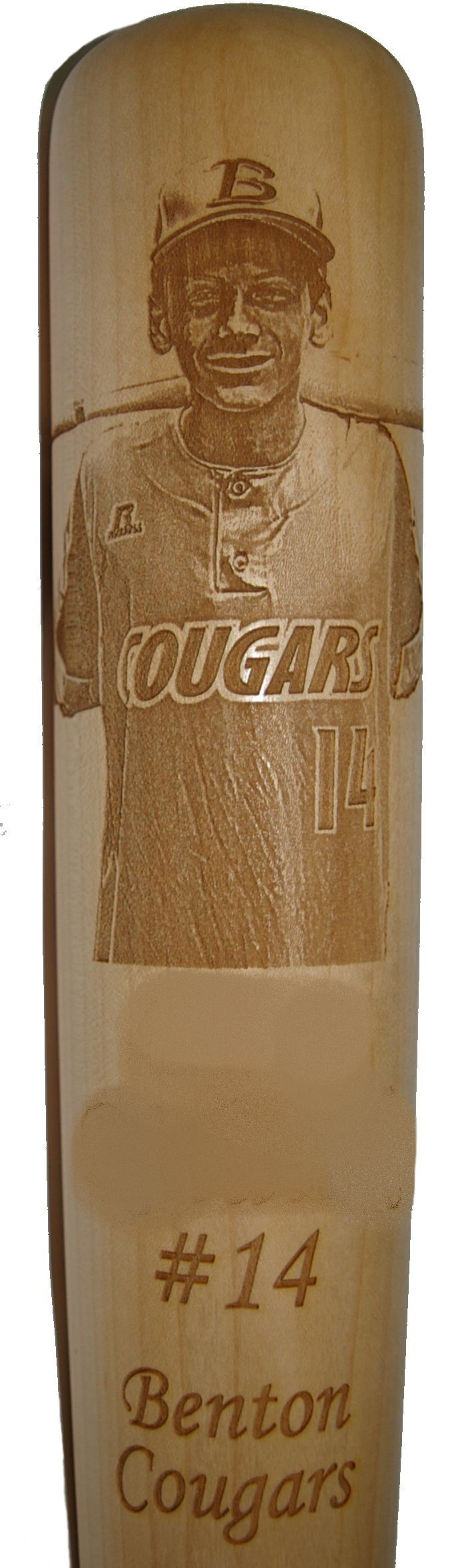 Photo Engraved 33 Quot Maple Baseball Bat W Name Number And