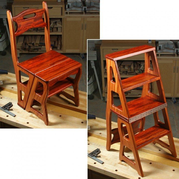 Convertible Step Stool Amp Chair Downloadable Plan Stools
