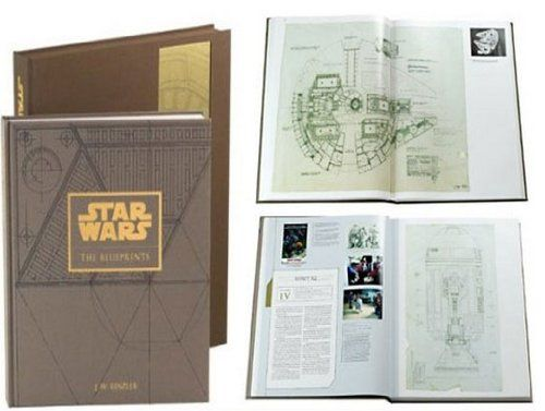 STAR WARS BLUEPRINTS  Star Wars The Blueprints Deluxe Edition - copy blueprint construction limited