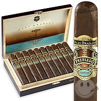 Alec Bradley - Prensado. Rated 96 by Cigar Aficionado. Just experienced a 25% hike in price for winning the 2011 cigar of the year. It's a good smoke, but not the best of 2011 in my opinion.