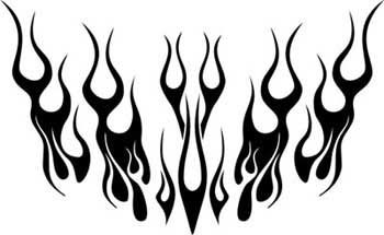 #Ghost Flames Hood Graphics 001 will lighten the color of