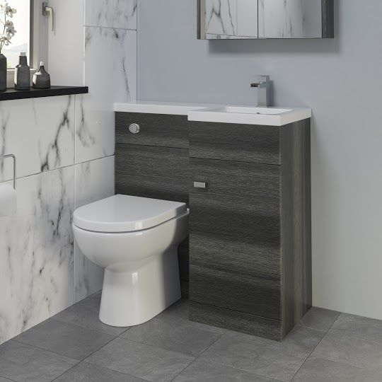 Combined Vanity Units With Toilet Plumbworld Toilet And Sink Unit Toilet Vanity Vanity Units