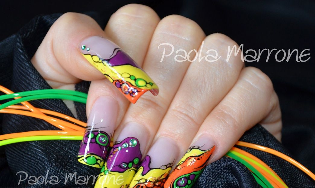 Nail Art By Paola Marrone Nail Art Paola Marrone Pinterest
