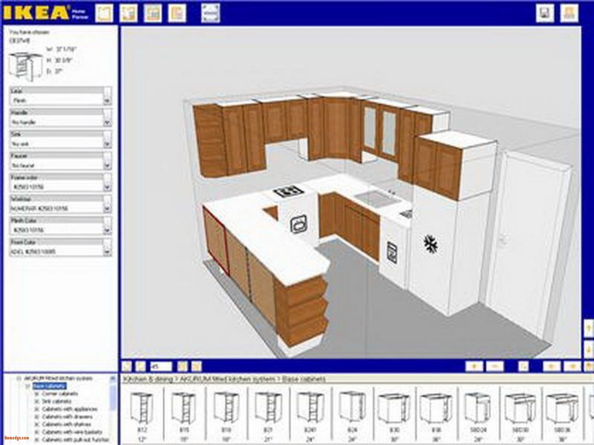 Design A Virtual Kitchen Online Free Pin By Ihomedge On Kitchen Kitchen Cabinet Design Interior Design