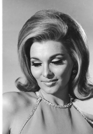 Nancy Kovack Classic Beauties Vintage Hairstyles Retro