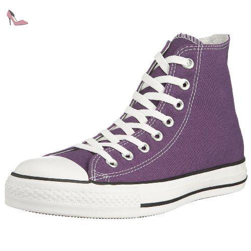 converse violette homme