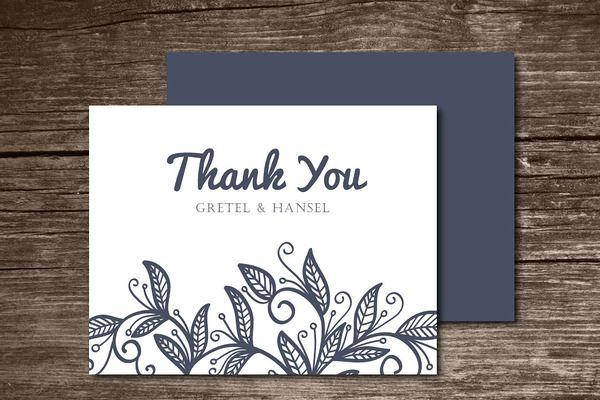 Popular Card Templates ~ Page 13 | Photo thank you cards ...