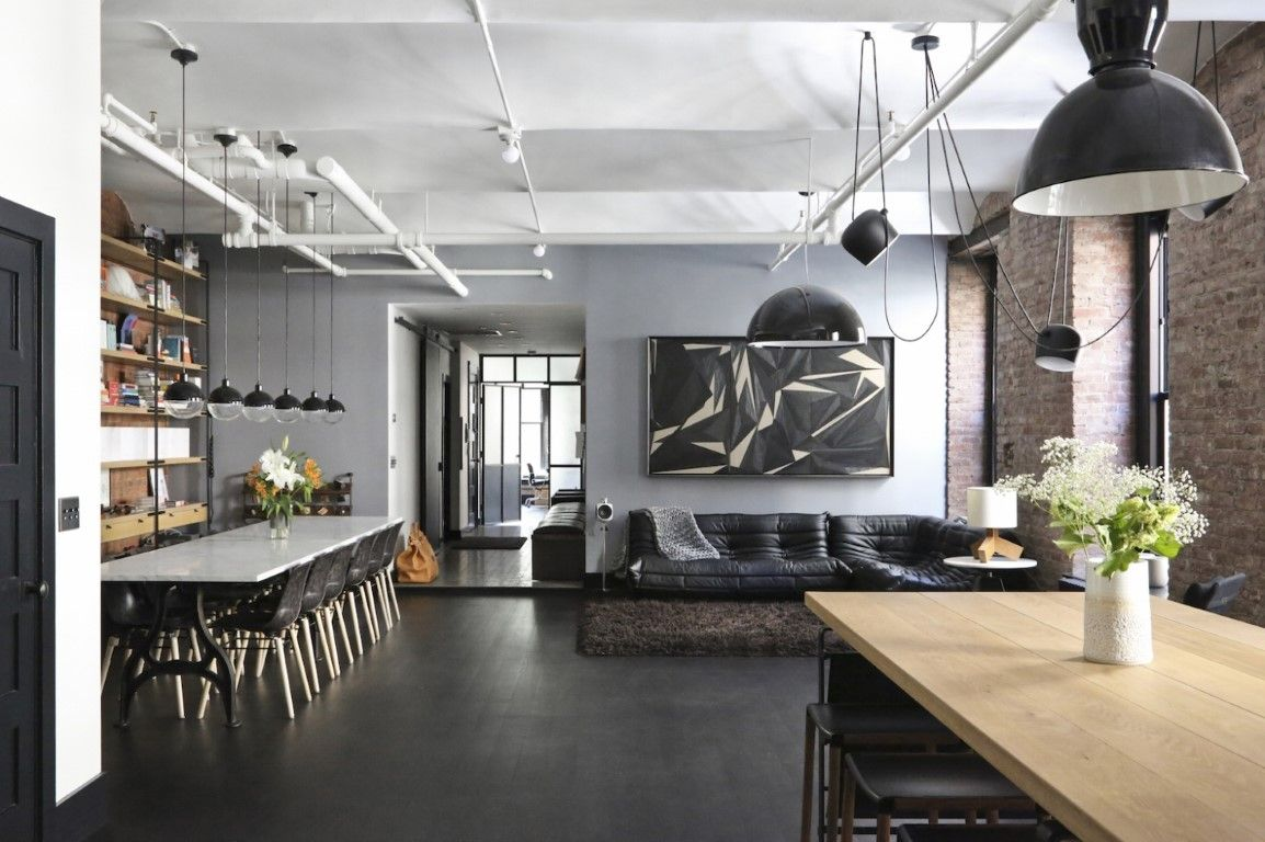 A beautiful loft you would definitely want to live in ...