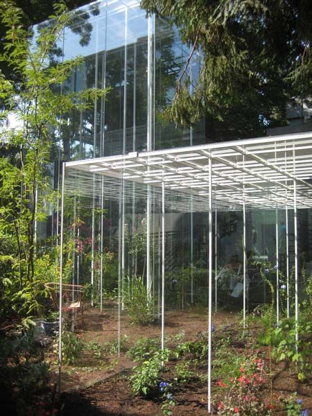 Japanese pavilion greenhouses by junya ishigami jp for Greenhouse architecture design