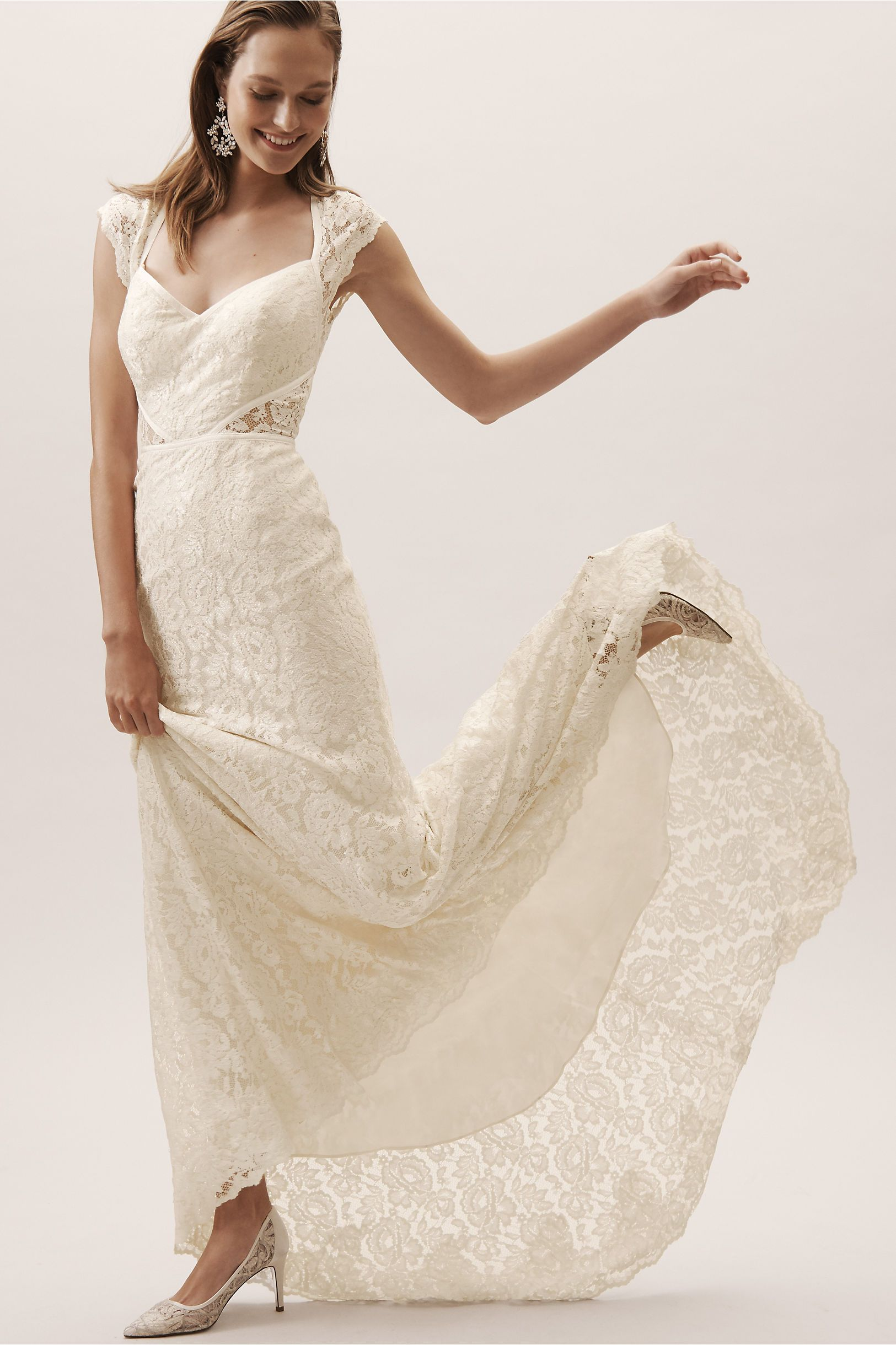e64626f3c06 BHLDN s Watters Twilla Gown in Ivory champagne