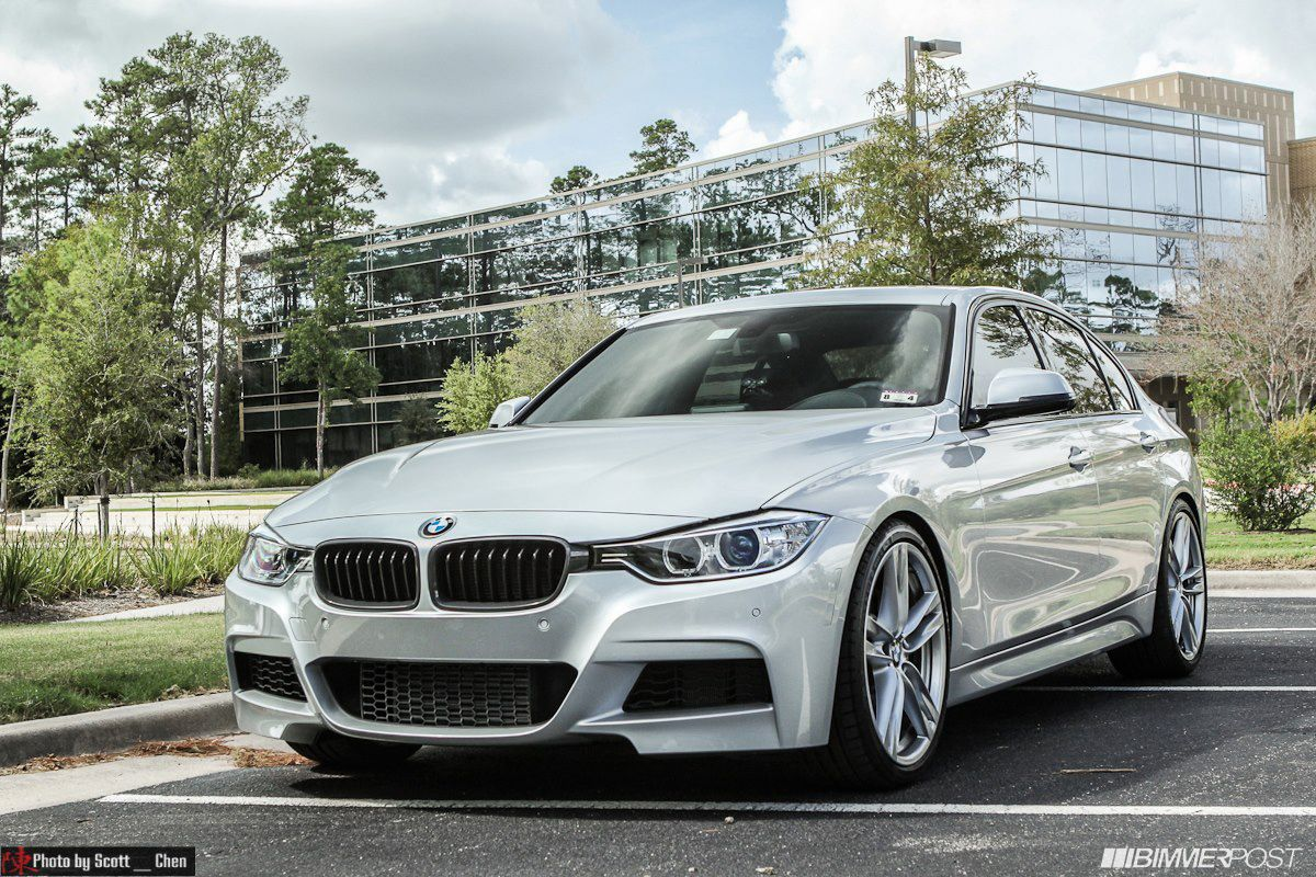 Silver F30 328i M Sport Photo Session With Images Bmw Bmw