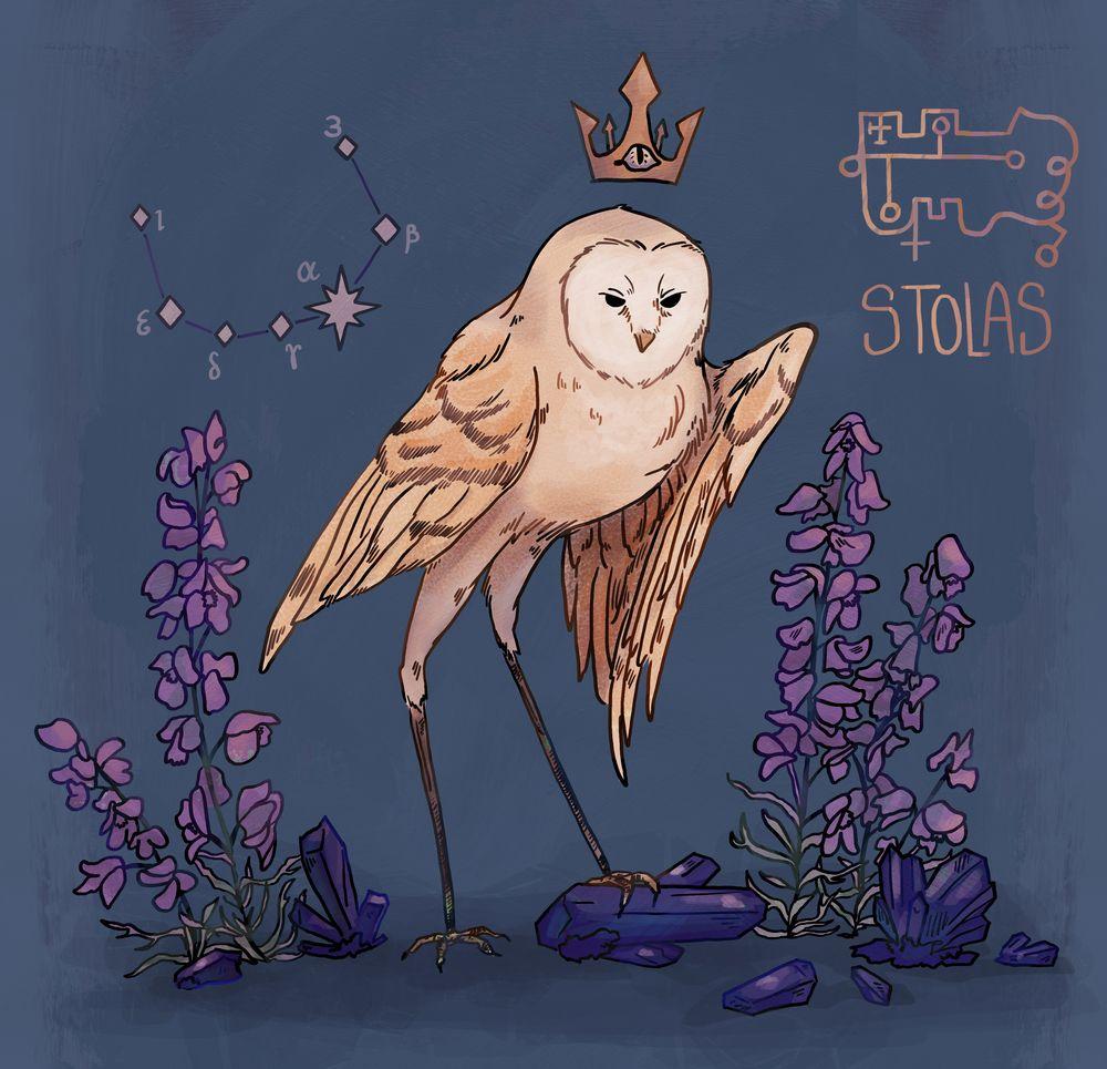 12++ Demonic owl ideas