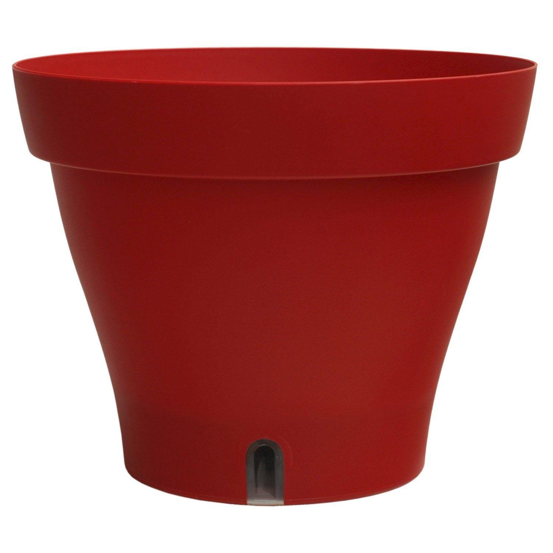 Bac Plastique A Reserve D Eau Bhr Diam 39 2 X H 31 2 Cm Rouge Reserve D Eau Bac Et Plastique