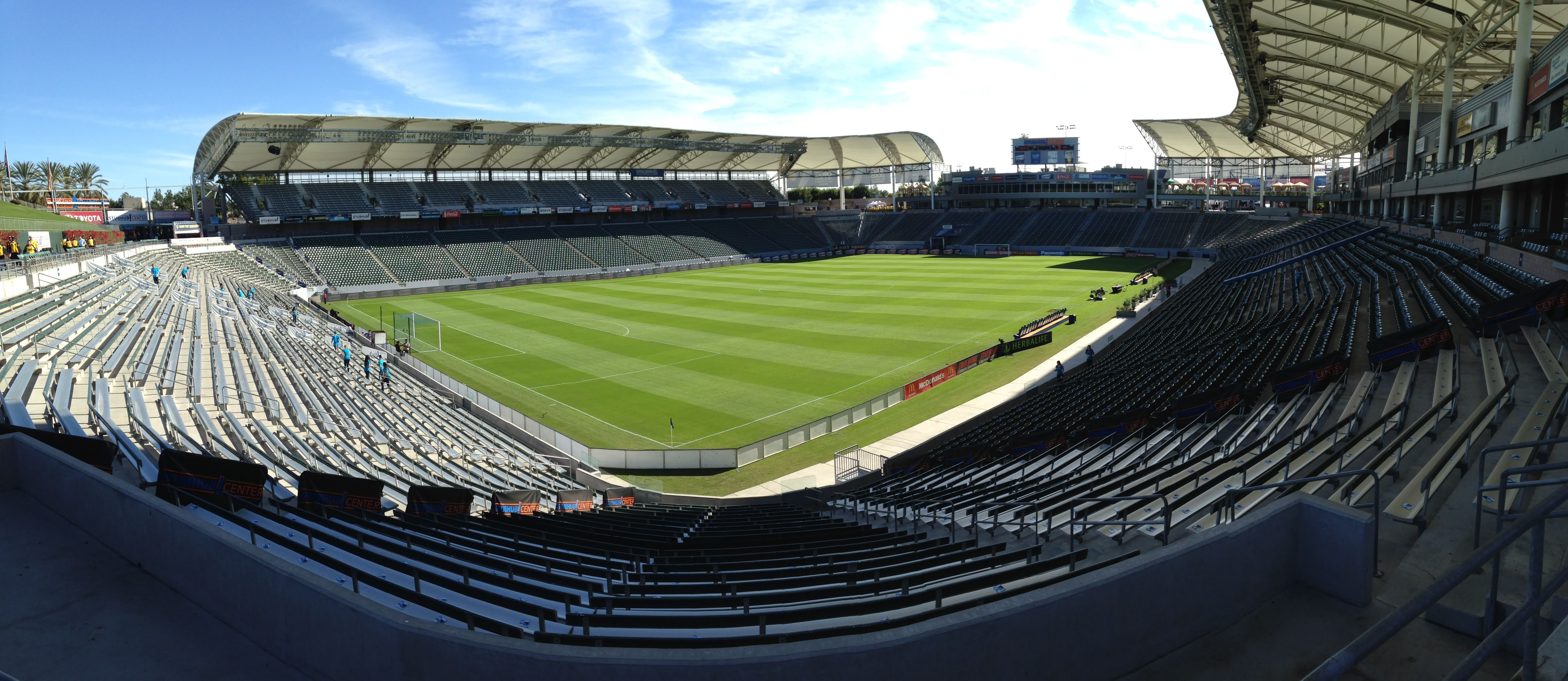 La Galaxy Estadio Stuhub Center Soccer Stadium La Galaxy Stadium