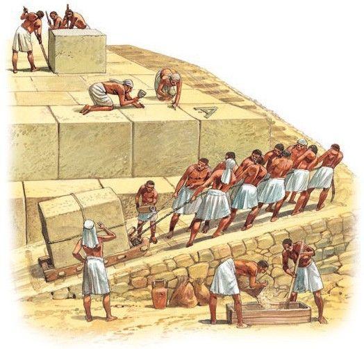 Image result for building pyramids