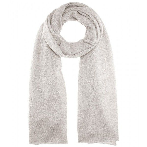 Jardin des Orangers Cashmere Scarf (1.990 ARS) ❤ liked on Polyvore featuring accessories, scarves, grey, cashmere shawl, jardin des orangers, gray shawl, grey scarves and gray scarves