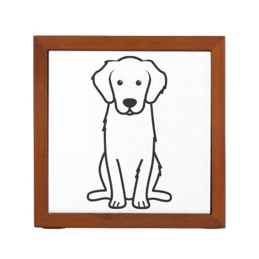 Peachy Golden Retriever Dog Cartoon Desk Organizer Zazzle Com Download Free Architecture Designs Scobabritishbridgeorg