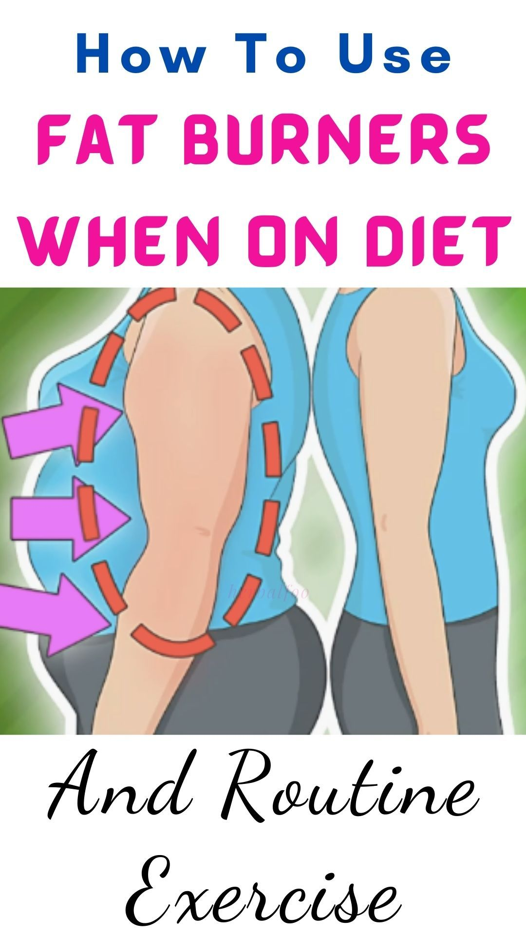 How To Use Fat Burners When On Diet And Routine Exercise