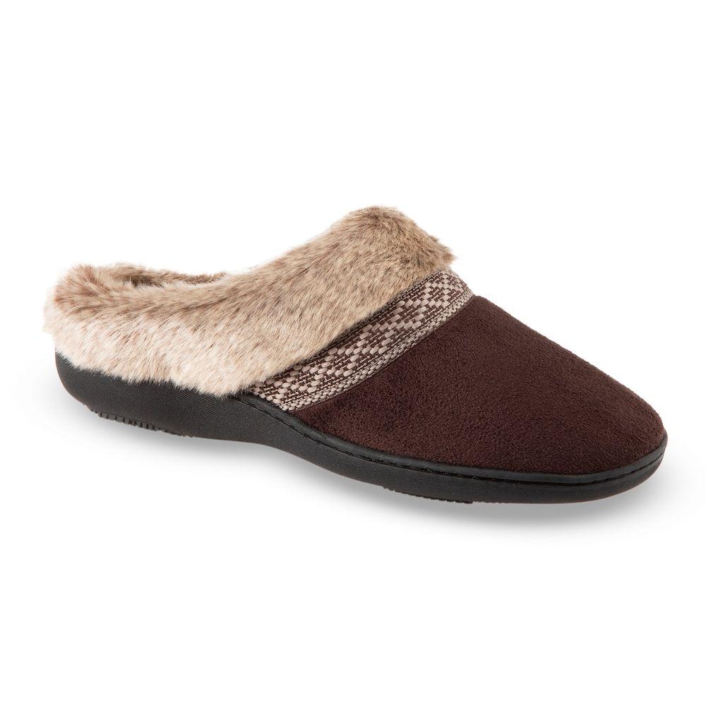 06c03b674 Women s isotoner Microsuede Basil Hoodback Slippers