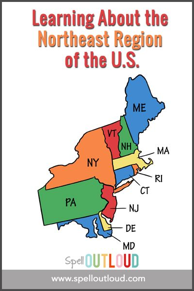 Learning about the Northeast Region of the U.S | Geography ...