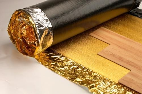15m2 Roll Sonic Gold 5mm Acoustic Underlay For Wood Or Laminate