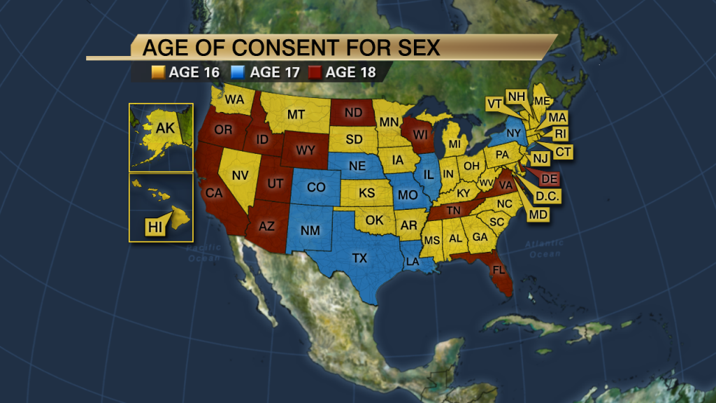 Legal age to have sex in illinois