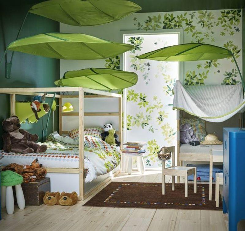 Dormitorios infantiles de ikea selva tropical kid 39 s - Dormitorio nina ikea ...