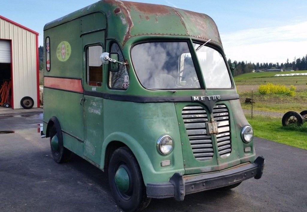350 Sbc Swapped 1957 International Harvester Metro International Harvester Vans International Truck