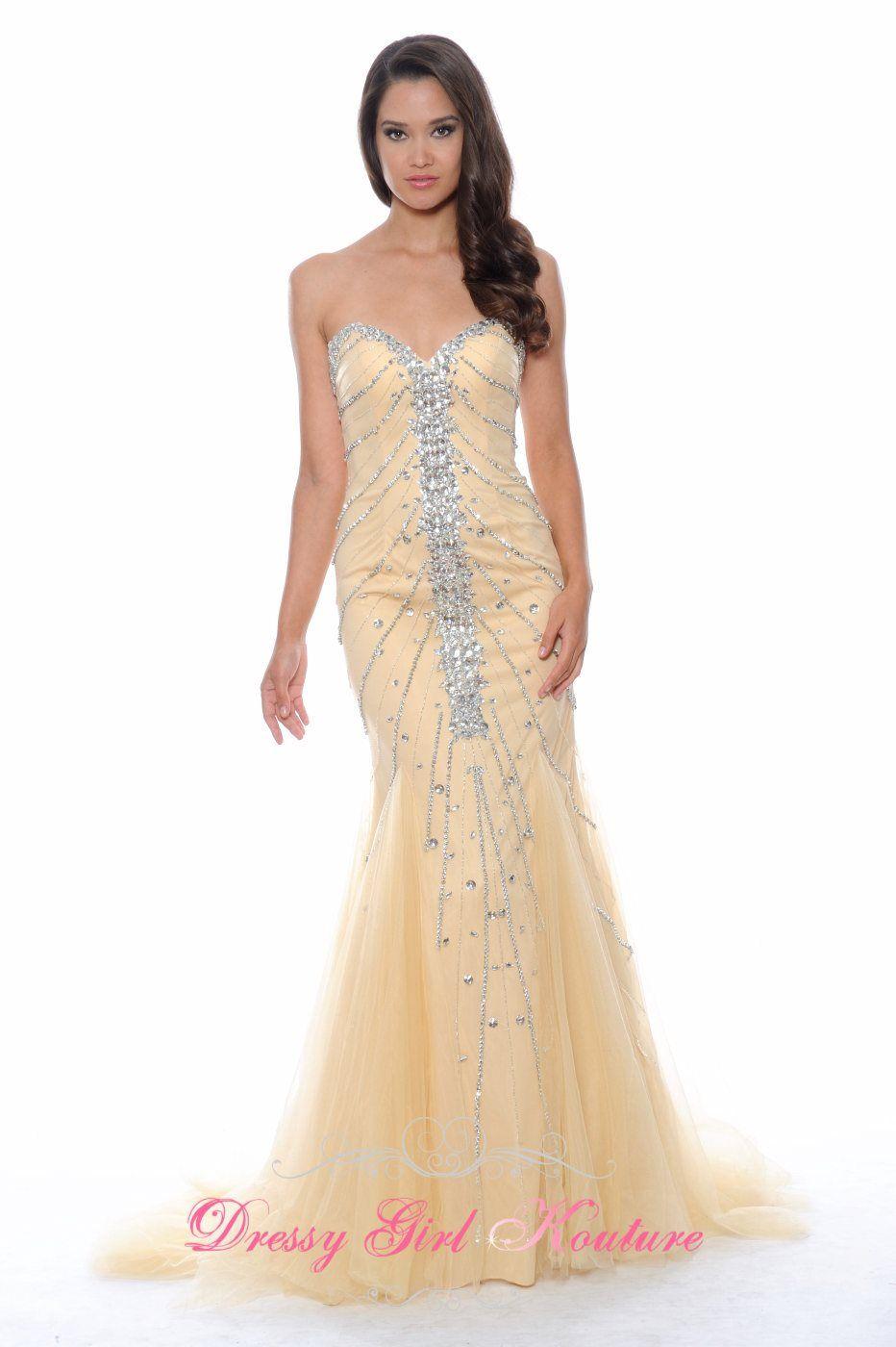 Decode 1.8 182499 gorgeous #godetdress #SpecialOccasionDress2014 #PromGown2014 #ButtercupDressbyDecode $338.00