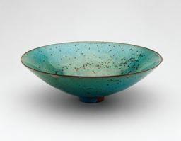 Gertrud Natzler  American, born Austria, 1908-1971  Otto Natzler  American, born Austria, 1908–2007  |  Coupe (Footed Bowl),ca.1945/46.