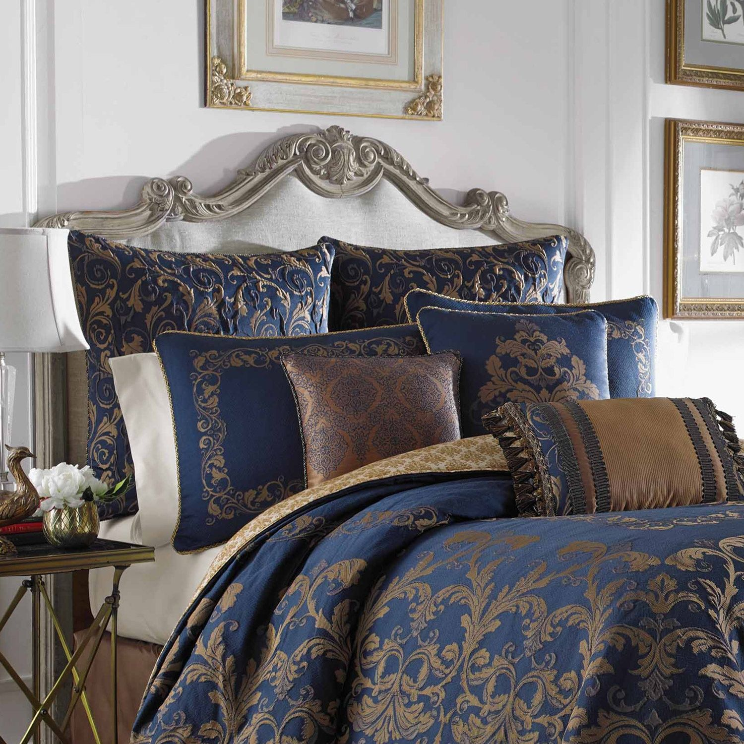 comforter set king park with blue style bedding and sets caprice coverlet ease brown quilted piece madison