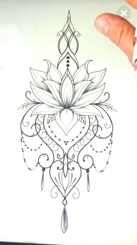 I like the lotus by itself - #Lotus -  I like the lotus by itself – #Lotus  - #itself #liontattoo #lotus #tattoogirlmodels
