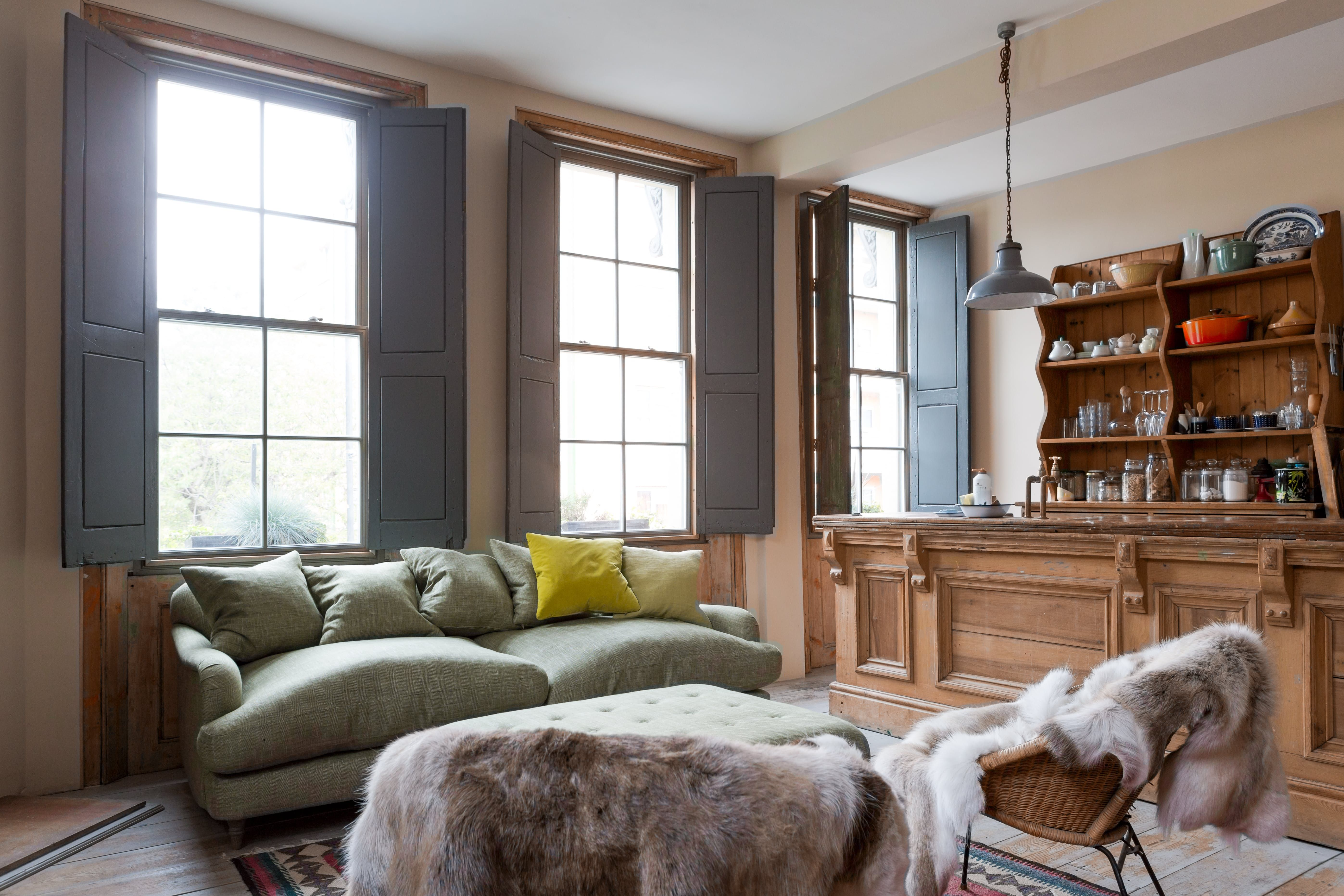 1950's home interior design house tour a former london pub turned cozy home  furniture