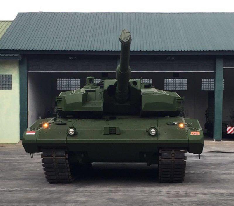Tank Leopard Ri Kavaleri Kostrad Jakartagreater Kendaraan Militer Militer Tank